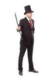 Бизнесмен с шляпой Yop стоковые фотографии rf