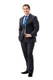 бизнесмен тела полный Стоковое фото RF