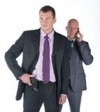 бизнесмен телохранителя Стоковые Фотографии RF