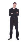 бизнесмен уверенно зреет Стоковые Фото