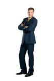 бизнесмен уверенно стоковые фотографии rf