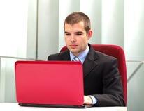 бизнесмен уверенно стоковое изображение rf