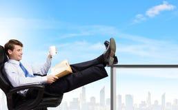 бизнесмен уверенно Стоковая Фотография RF