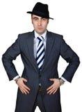 бизнесмен уверенно Стоковое Изображение