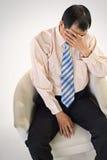 бизнесмен унылый Стоковая Фотография