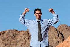бизнесмен успешный стоковое фото