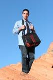 бизнесмен успешный стоковое изображение
