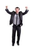 бизнесмен успешный Стоковая Фотография RF