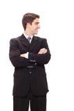 бизнесмен успешный стоковые фотографии rf