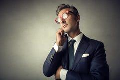 бизнесмен шикарный стоковое изображение
