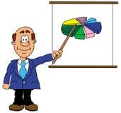 бизнесмен Иллюстрация штока