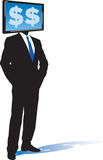 бизнесмен e Стоковое Изображение