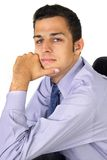 бизнесмен smilling Стоковые Изображения RF