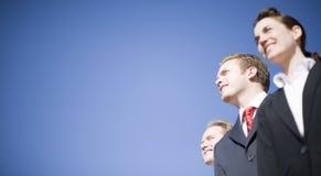 бизнесы лидер Стоковое фото RF