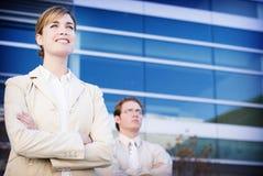 бизнесы лидер Стоковое Изображение