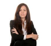 Бизнес-леди латиноамериканца Стоковое Фото