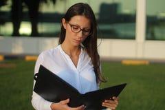 Бизнес-леди - изображение запаса стоковые изображения