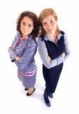2 бизнес-леди красоты совместно Стоковые Изображения