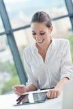 Бизнес-леди на офисе Стоковые Фотографии RF