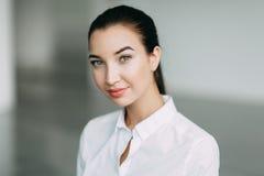 Бизнес-леди портрета Стоковая Фотография