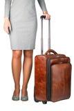 Бизнес-леди с случаем Стоковые Фотографии RF