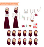 Бизнес-леди для анимации Стоковая Фотография RF