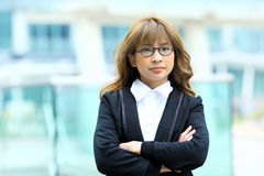 Бизнес-леди Стоковое фото RF
