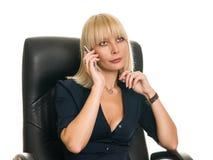 Бизнес-леди Стоковое Изображение RF
