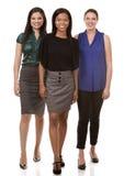 3 бизнес-леди Стоковые Фотографии RF