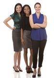 3 бизнес-леди Стоковые Изображения RF