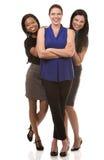 3 бизнес-леди Стоковая Фотография