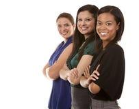 3 бизнес-леди Стоковые Фото