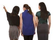 3 бизнес-леди Стоковое Изображение
