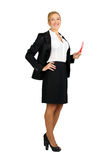 Бизнес-леди Стоковое Изображение