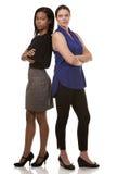 2 бизнес-леди Стоковые Изображения RF
