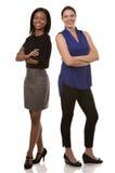 2 бизнес-леди Стоковые Фотографии RF