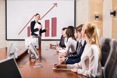 Бизнес-консультант стоковое изображение rf