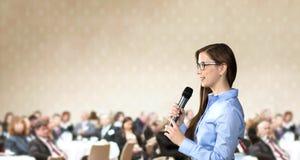Бизнес-конференция стоковое фото rf
