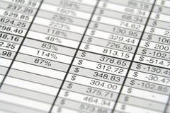 Бизнес-отчет стоковые фото