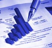 бизнес-отчет Стоковые Фотографии RF