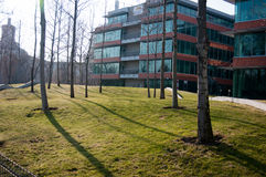 Бизнес-парк 2 Бухареста Стоковая Фотография