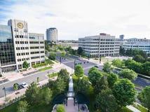 Бизнес-парк Стоковая Фотография RF