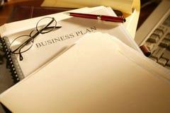 бизнес-план Стоковая Фотография