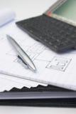 бизнес-план Стоковые Фото