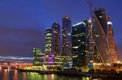 Бизнес-центр в Москве Стоковое Фото