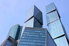 Бизнес-центр города Москва Стоковая Фотография