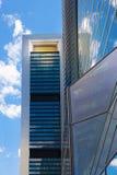 Бизнес-центр города Мадрида Стоковое фото RF