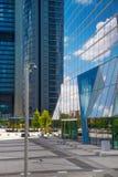 Бизнес-центр города Мадрида Стоковые Изображения RF