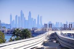 Бизнес-центр Дубай Стоковые Фотографии RF