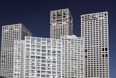 бизнес-центр здания Пекин Стоковое фото RF